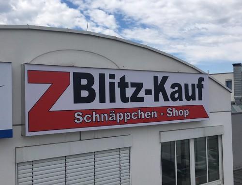 Blitz-Kauf // Wechselservice für Leuchtkasten