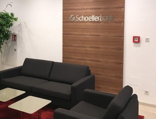 Schoellerbank // Buchstaben in Perfektion